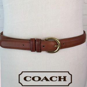 Coach leather belt L